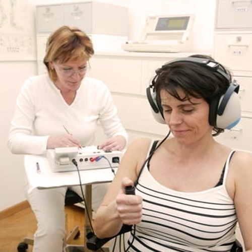 Audiometrie/Hörfunktionsprüfung